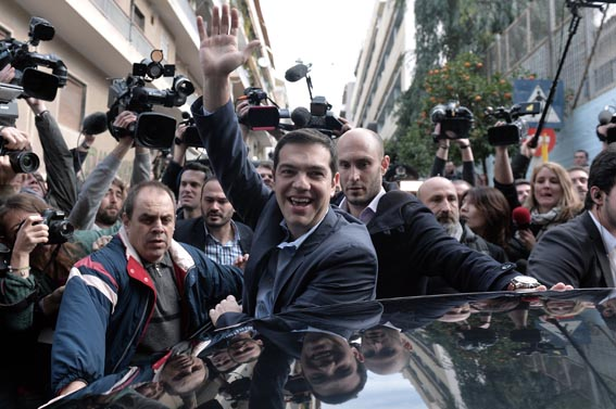 TOPSHOTS-GREECE-VOTE-SYRIZA
