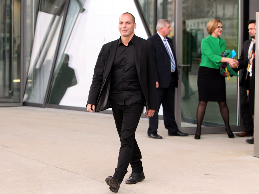 GERMANY-GREECE-ECB-EU-EUROZONE-ECONOMY-DEBT-VAROUFAKIS