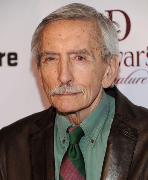 "(FILES) This file photo taken on January 30, 2012 shows American Playwright Edward Albee attending The Signature Center Opening gala in New York City.   Pulitzer-winning US playwright Edward Albee, author of such masterpieces as ""Who's Afraid of Virginia Woolf?"" died on September 16, 2016 at age 88, his personal assistant said in a statement. / AFP PHOTO / GETTY IMAGES NORTH AMERICA / Jason Kempin"